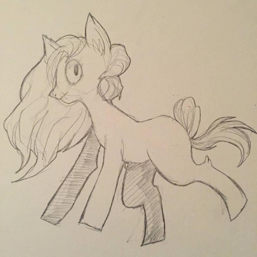 Random pony  by Paranoid-spectrum