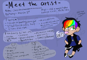 Meet the artist by Paranoid-spectrum