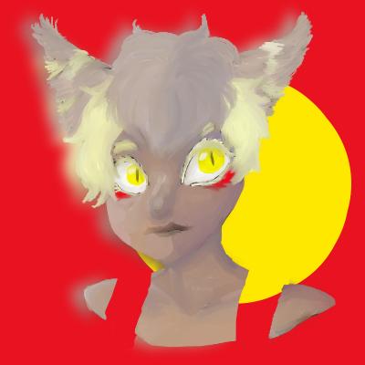 Miau Protrait by Paranoid-spectrum