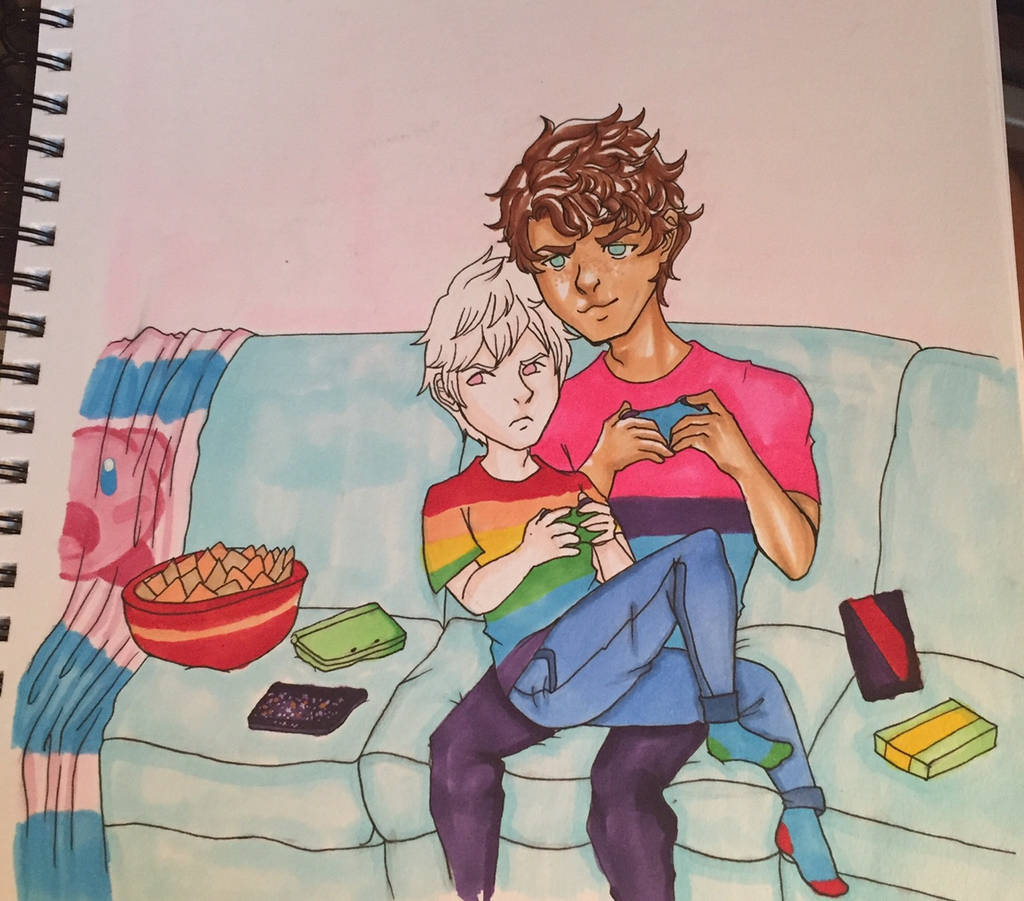 Jayy and Liam by Paranoid-spectrum