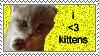 Kittens own by darkmangachick