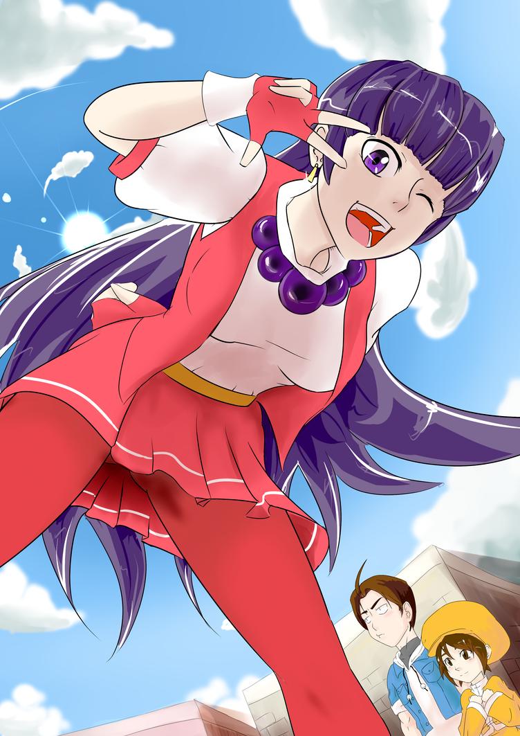 Athena Asamiya Psycho Soldiers by 9Kurinoa-Chibi6