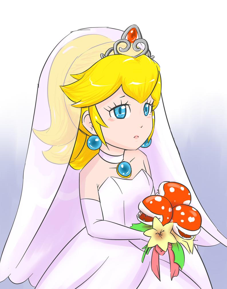 Odyssey Bride Peach by 9Kurinoa-Chibi6