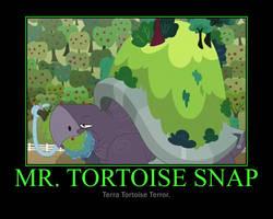 Motivational Mr. Tortoise Snap