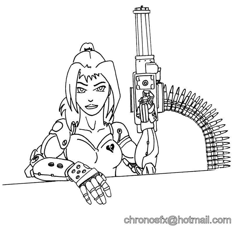 Candy - Minigun by ChronoSFX