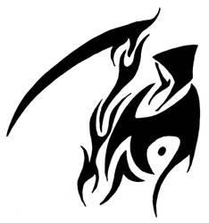 Grim Reaper Tribal Vinyl 312 by ChronoSFX
