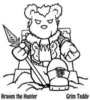 Kraven the Hunter Teddy by ChronoSFX
