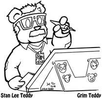 Stan Lee Teddy by ChronoSFX