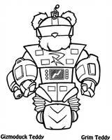 Gizmoduck Teddy by ChronoSFX