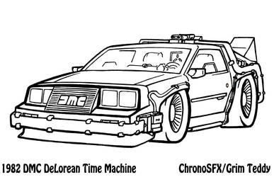 1982 Delorean B2tF Time Machine by ChronoSFX
