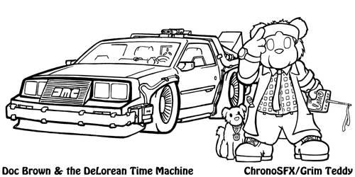 Doc Brown B2tF by ChronoSFX