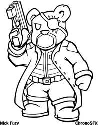 Nick Fury by ChronoSFX