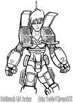 Battletech Girl Archer
