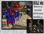 Battletech Comic #21: Rule 002