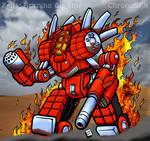 Zeus: Burning Chrome by ChronoSFX