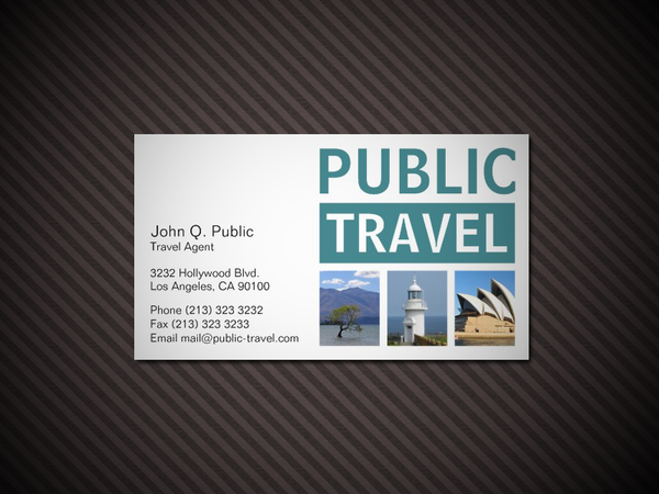 travel agency business card by es32 on deviantart