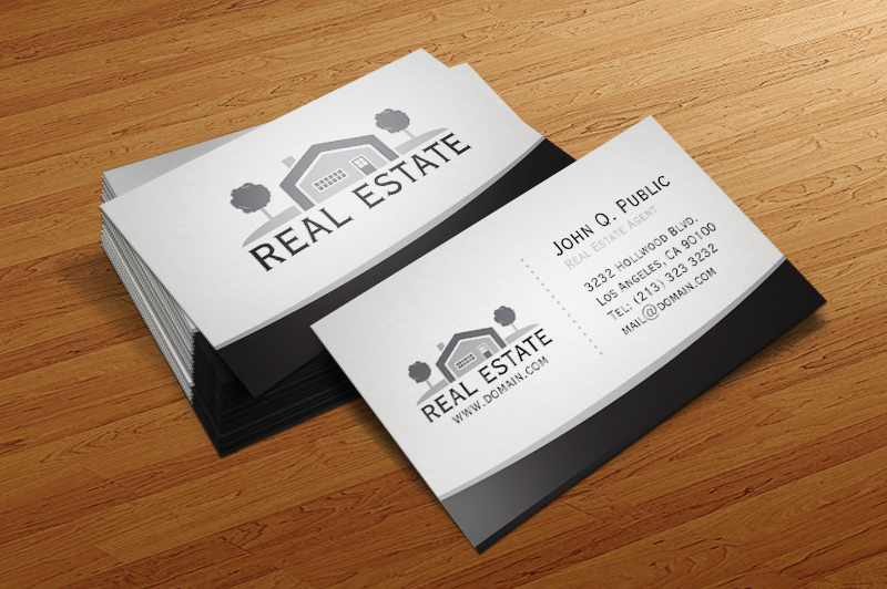 Real Estate Business Card by es32