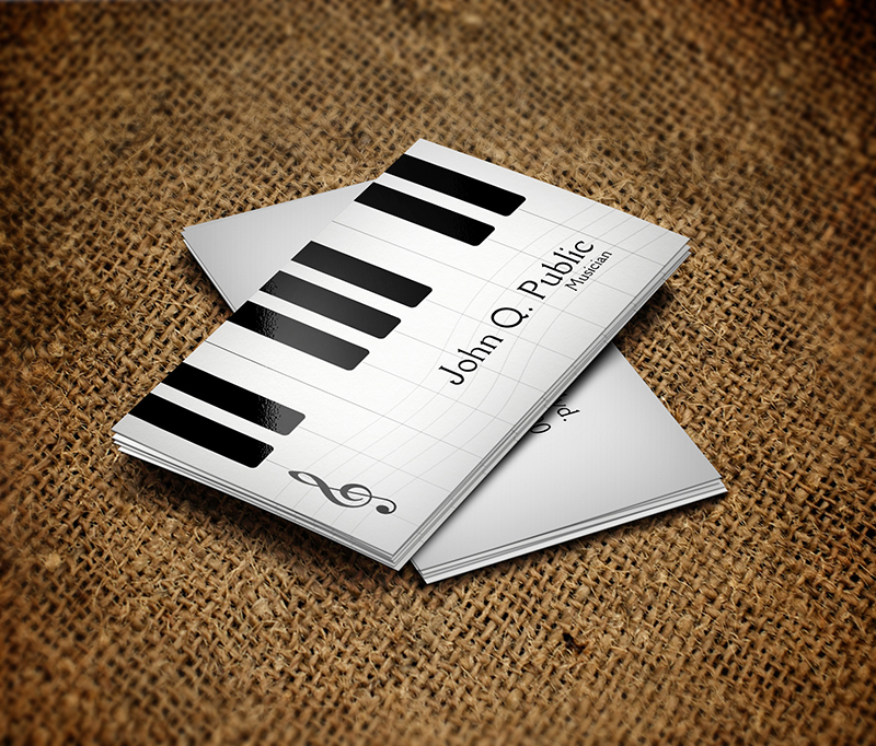 Piano musician business card by es32 on deviantart piano musician business card by es32 colourmoves