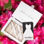 Black and White Wedding Planner Business Cards