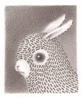 another bunny 2 by reneefrench