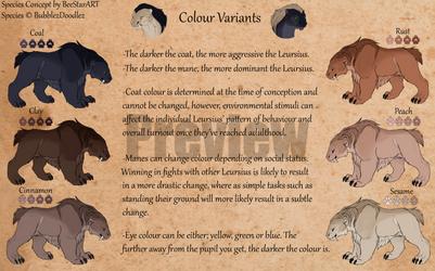 Leursius Colour Sheet [PREVIEW]