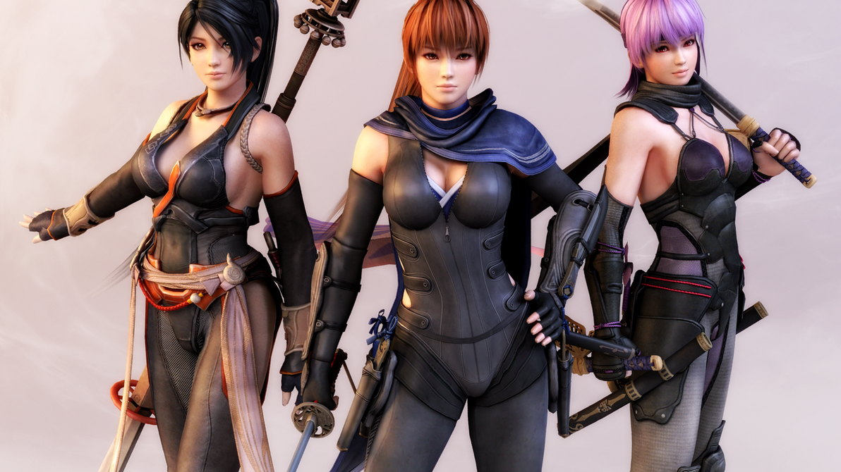 Rather Dead or alive kasumi and ayane something is