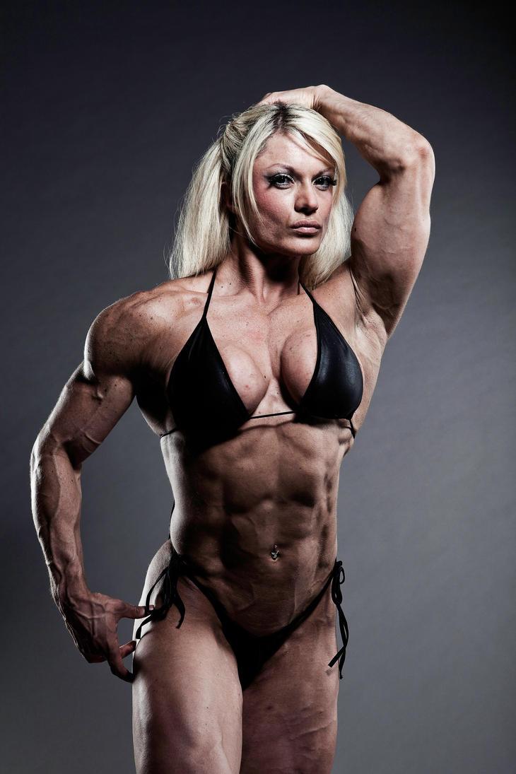 Just 3 days left by femalemuscle on deviantart - Lisa cross fbb ...