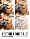 FemaleMuscle Poster