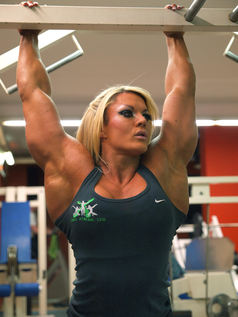 Lisa cross essen gym by areaorion on deviantart - Lisa cross fbb ...