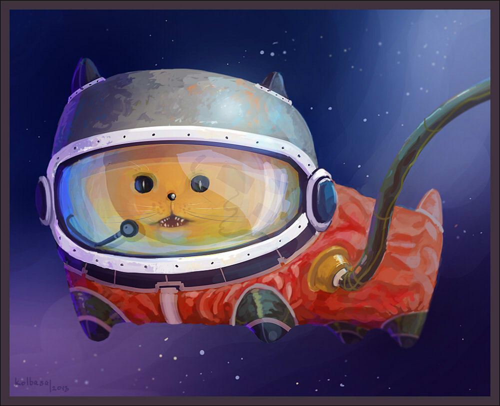 Spacekitty by cyberkolbasa