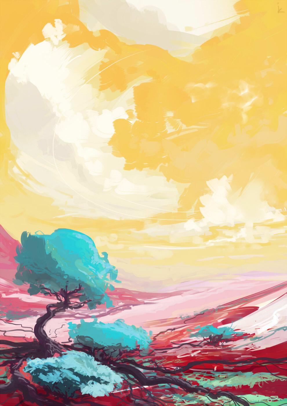 quick landscape 03 by cyberkolbasa