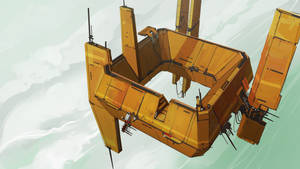 Flying Fortress by cyberkolbasa