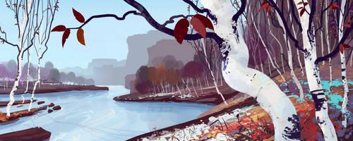 The River by cyberkolbasa