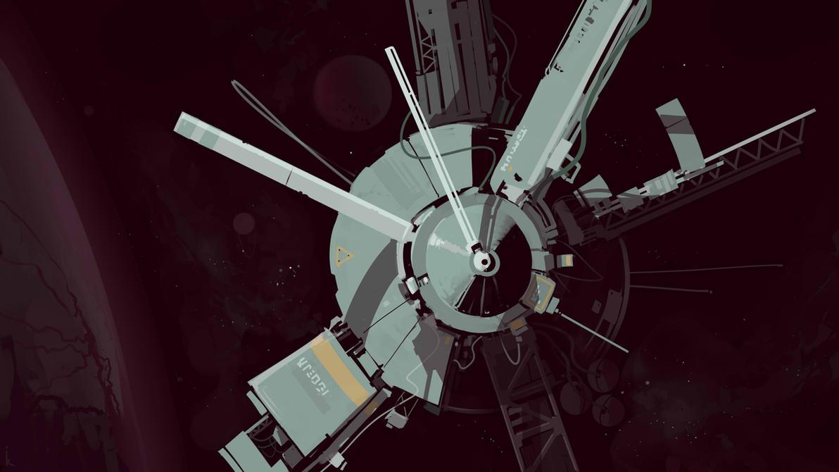 Spaceship by cyberkolbasa