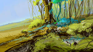 quick landscape: hill