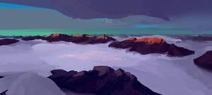 Mountains by cyberkolbasa