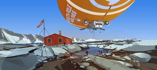 south pole airlines