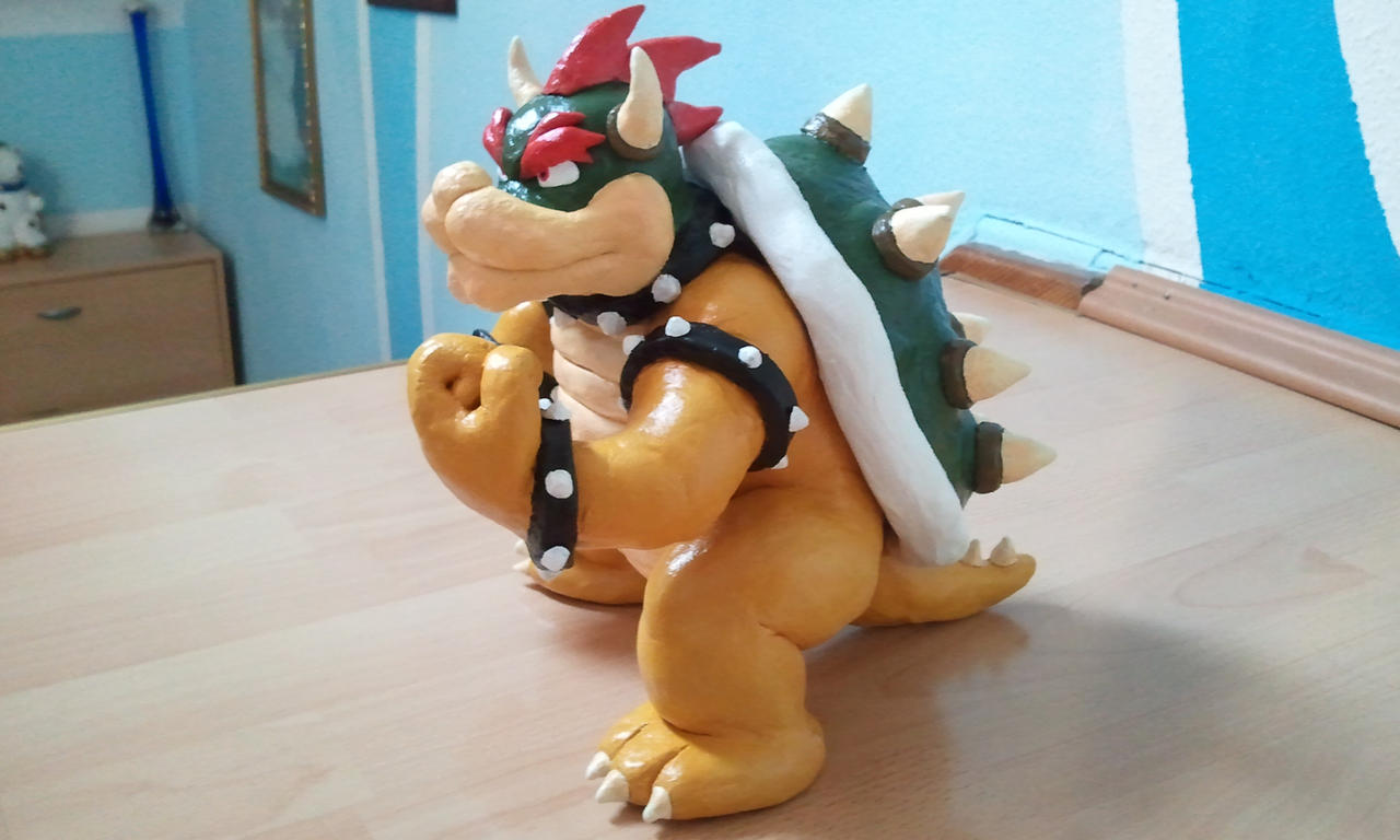KING BOWSER sculpture by fb1907