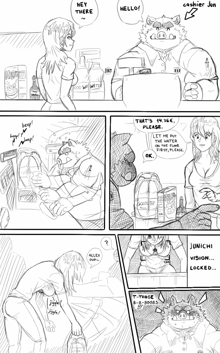 Jun's cashier adventures by fb1907