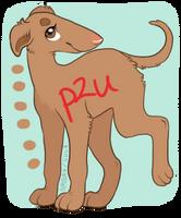 Borzoi puppy P2U by naida4