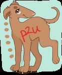 Borzoi puppy P2U