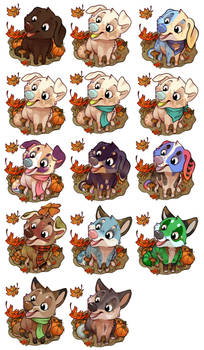 Fall Puppers //CLOSED