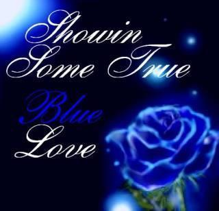 Blue rose show you the Love by blackroselover
