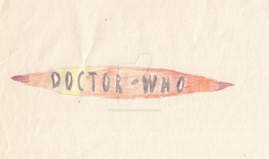 Doctor Who logo Colour by blackroselover
