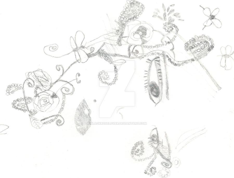 drawing bag Primark by blackroselover