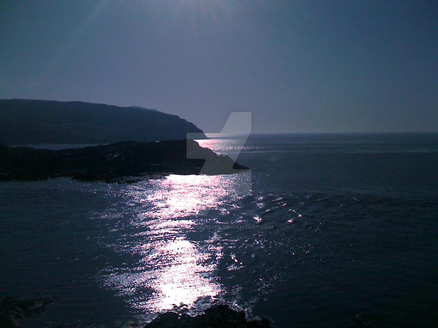 Sun sea veiw by blackroselover
