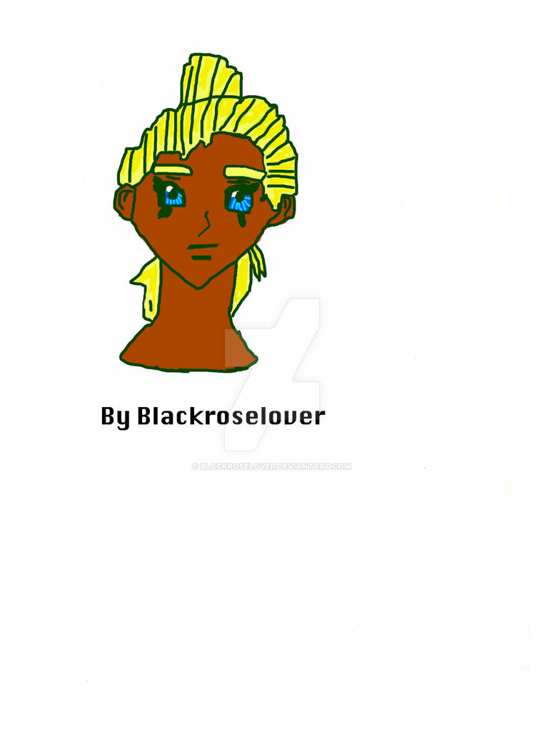 My First Photo shop colouring by blackroselover