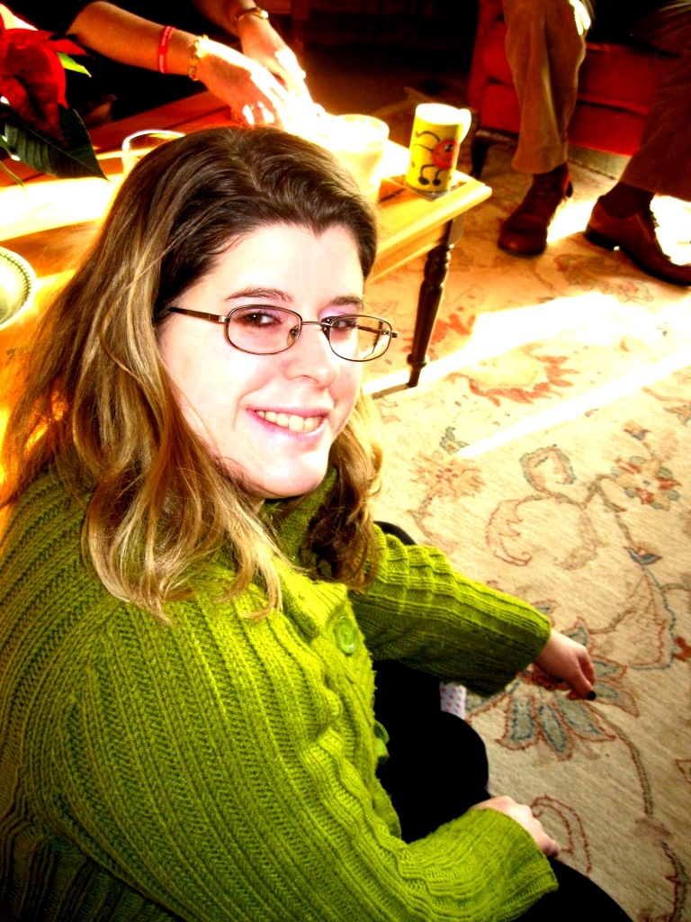 me at Xmas time 2010 by blackroselover