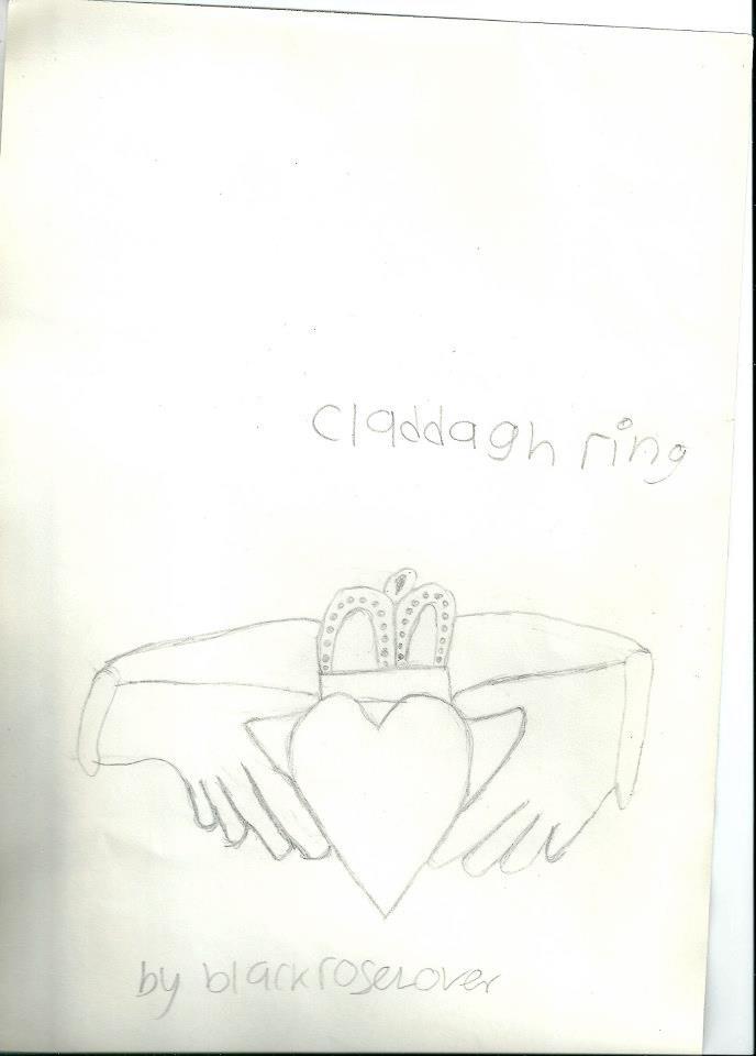 Claddagh Ring by blackroselover