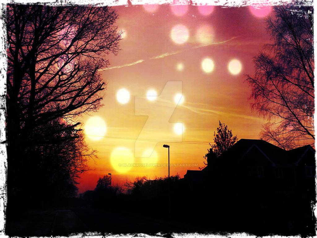 Sunset edit 1 by blackroselover